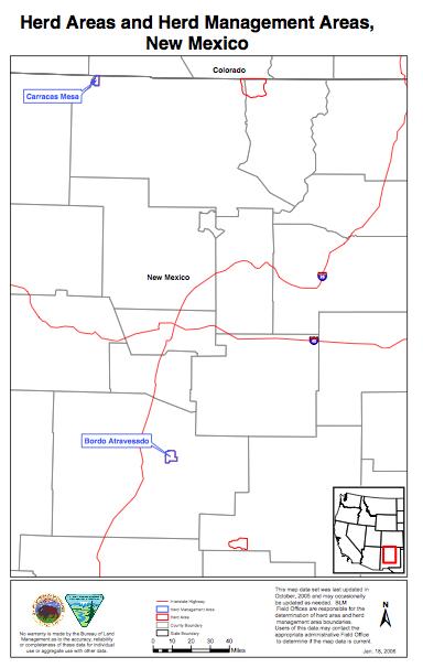 New Mexico HA Map